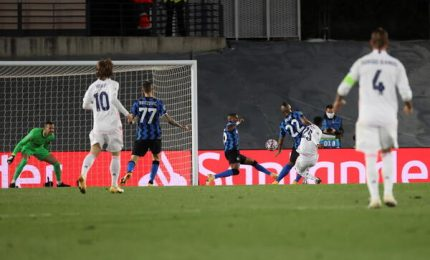 Champions, l'Inter rimonta due gol ma il Real Madrid vince 3-2