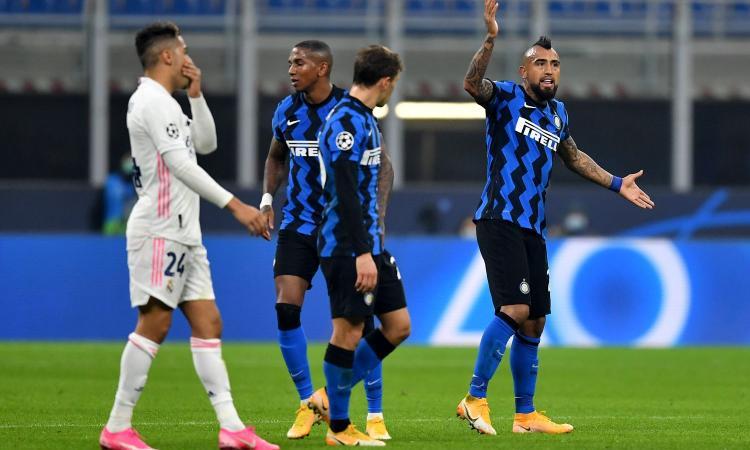 Champions: Inter-Real 0-2, qualificazione lontanissima. Impresa Atalanta, vince 2-0 a Liverpool