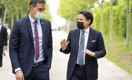 Vertice Italia-Spagna su Recovery e coordinamento Covid