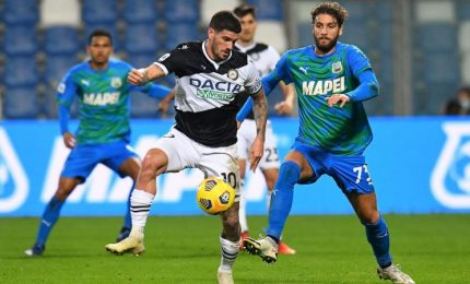 Sassuolo-Udinese 0-0, Al Mapei Stadium vince la noia