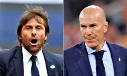 """Conte: """"Contro il Real sarà una finale"""". Zidane, tanti assenti ma nessun alibi"""