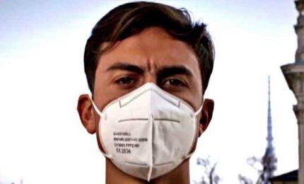 "Covid, Dybala testimonial per il Piemonte: ""Indossate mascherina"""