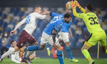 Europa League, il Napoli non sbaglia: 2-0 a Rijeka e primo posto