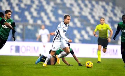 Sassuolo-Inter 0-3, Conte si rialza dopo il ko contro il Real