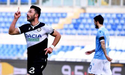 Lazio-Udinese 1-3, colpo dei friulani all'Olimpico