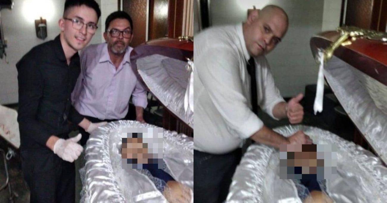 Selfie con salma Maradona, licenziati dipendenti impresa funebre