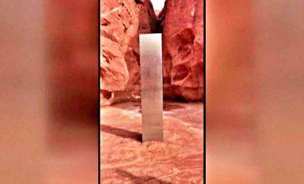 È mistero sul monolite comparso in un'area remota in Utah