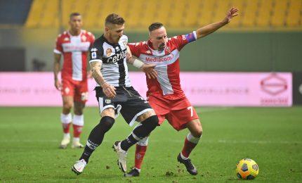 Parma-Fiorentina 0-0, primo non prenderle