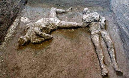 Pompei, trovati i corpi di due pompeiani morti nel 79 d.C