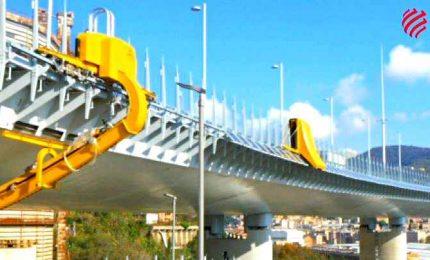 Nuovo Ponte di Genova, robot ipertecnologici al lavoro