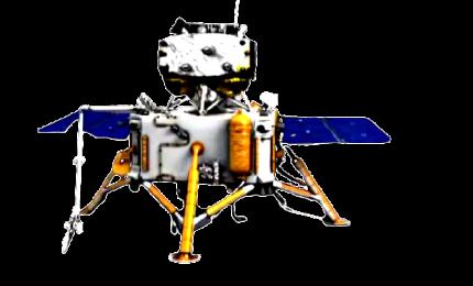Sonda cinese Chang'e-5 allunata con successo