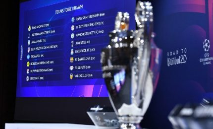 Sorteggi Champions: Juve facile, Atalanta e Lazio in salita