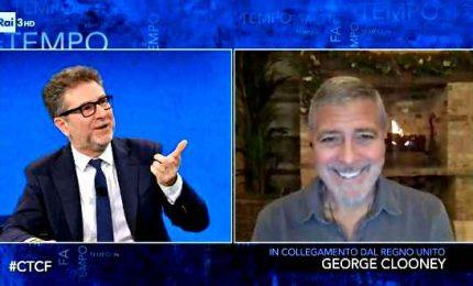 """""""Fazio ha speso 150mila euro per avere Clooney"""": nuova bomba sulla Rai"""
