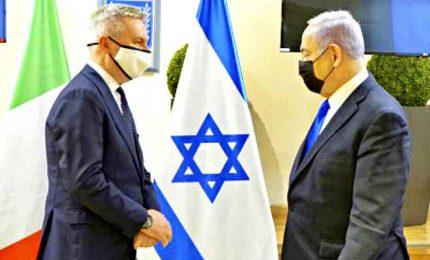 Il ministro della Difesa Guerini in visita in Israele