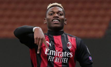 Milan e Inter a segno, Leao in gol dopo sei secondi