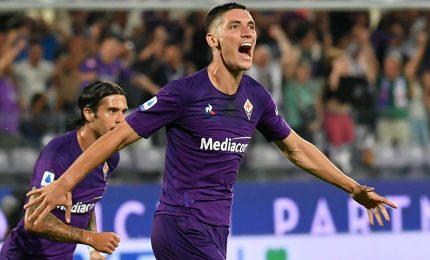 Fiorentina-Genoa 1-1, Milenkovic riacciuffa il Genoa al 98'. Primo punto per Prandelli