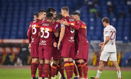 Roma-Torino 3-1, giallorossi al quarto posto