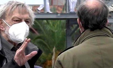 Coronavirus, Gino Strada a Crotone per sopralluogo all'ospedale