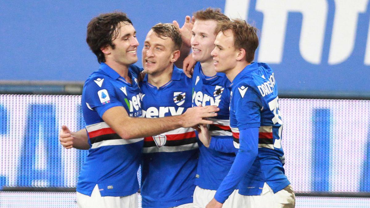 Sampdoria-Crotone 3-1, seconda vittoria consecutiva blucerchiata