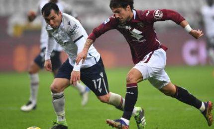 Torino-Bologna 1-1, a Verdi risponde Soriano