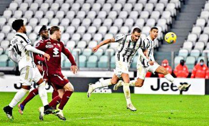 La Juve ribalta il Torino all'ultimo, decide Bonucci all'89'