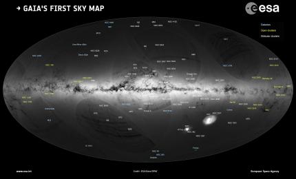Tracciata mappa 3D della Via Lattea