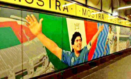 Forza Napoli Sempre, murales alla Cumana in onore Maradona