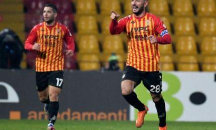Benevento-Lazio 1-1, Schiattarella risponde a Immobile