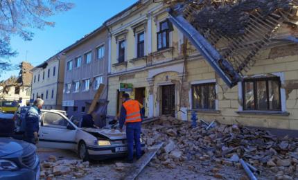 Terremoto in Croazia, almeno sette morti. Scosse avvertite in Lombardia e in Veneto