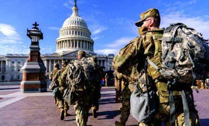 Washington, allerta e controlli su forze ordine a vigilia inaugurazione Biden