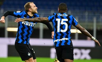 Coppa Italia, Lukaku ed Eriksen portano l'Inter in semifinale