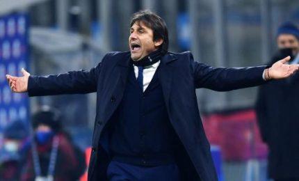 L'Inter pareggia a Udine, Conte espulso