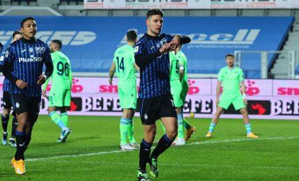 Impresa Atalanta, Lazio ko in 10 ed è semifinale