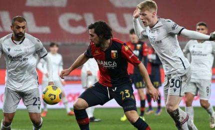 Genoa-Bologna 2-0, la cura Ballardini funziona