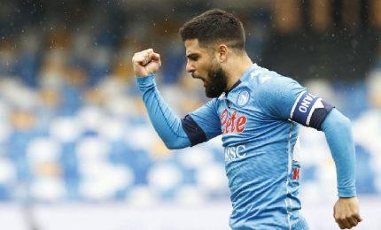 Napoli-Fiorentina 6-0, Insigne straripante al Maradona