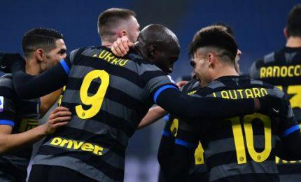 Inter-Benevento 4-0, Lautaro e Lukaku calano il poker