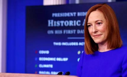 Il primo briefing di Jen Psaki, portavoce della Casa Bianca