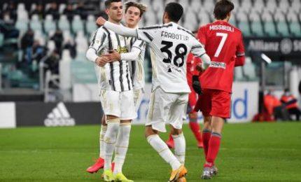Juve sul velluto: 4-0 alla Spal e semifinale