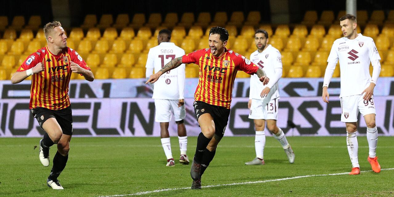 Benevento-Torino 2-2, Zaza salva il Torino