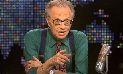 E' morto Larry King, era affetto da Covid-19