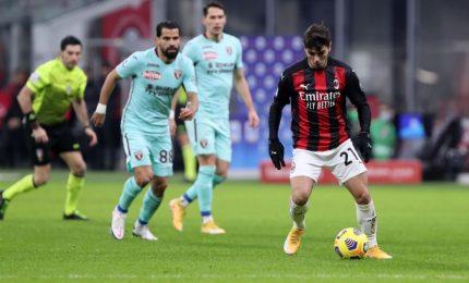 Milan-Torino 2-0, Leao e Kessie fanno volare i rossoneri