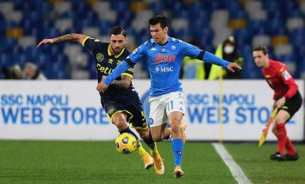 Napoli-Parma 2-0, decidono le reti di Elmas e Politano