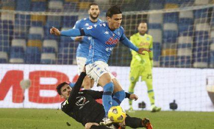 Napoli-Spezia 4-2, azzurri in semifinale
