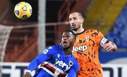 Sampdoria-Juventus 0-2, decidono Chiesa e Ramsey