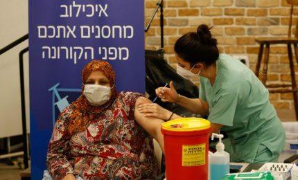 Covid, Israele: vaccinate circa 1,2 milioni di persone