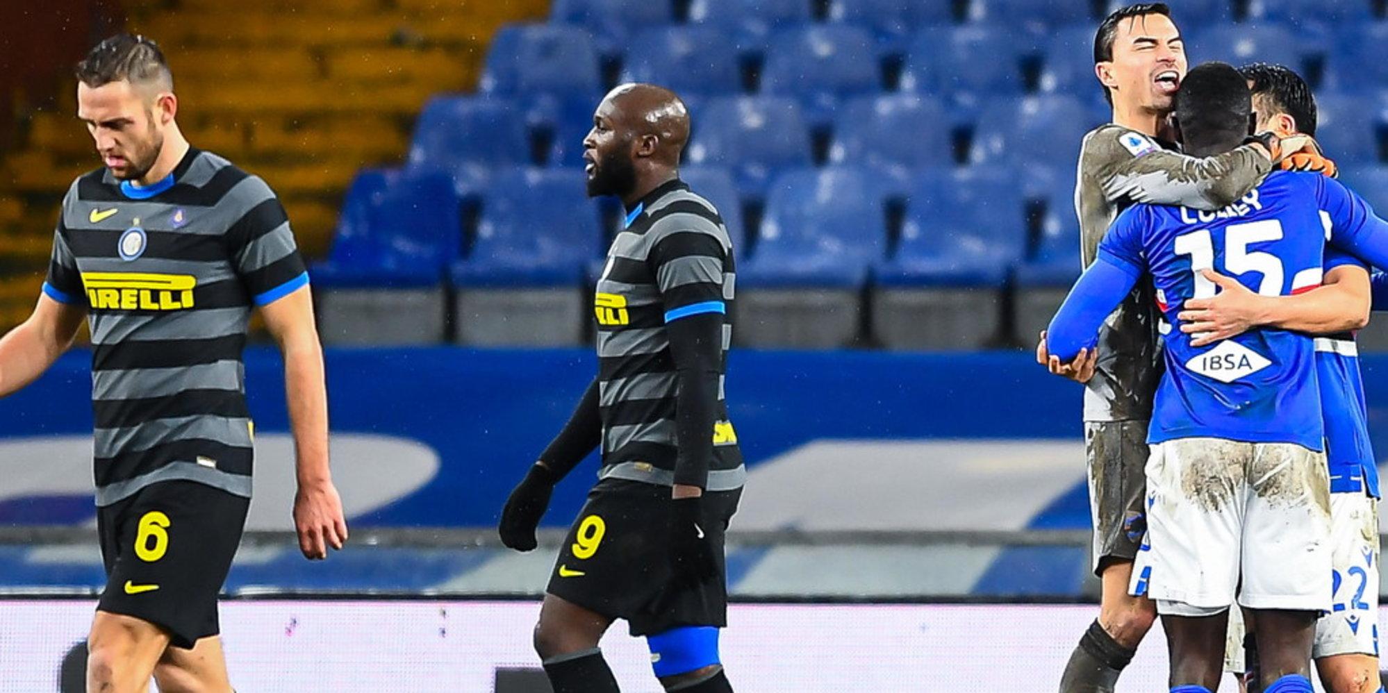 Samp-Inter 2-1: gli ex Candreva e Keita sgambettano Conte. Tutte le partite