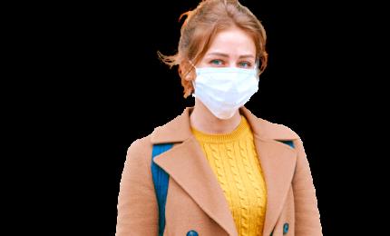 La mascherina rende meno ansiosi e depressi
