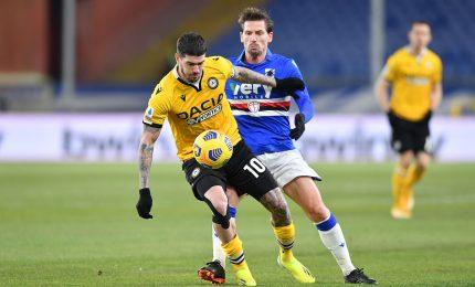 Sampdoria-Udinese 2-1: Ranieri in rimonta, decide Torregrossa