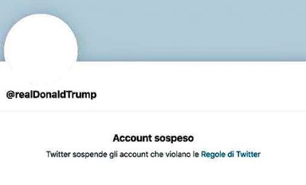 Twitter blocca permanentemente l'account di Donald Trump