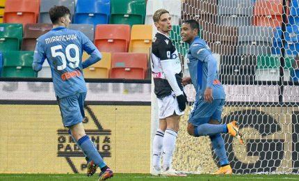 Udinese-Atalanta 1-1, a Pereyra risponde Muriel